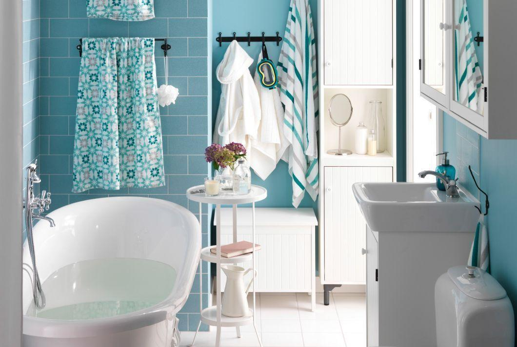 "Foto: Reprodução / <a href=""http://www.ikea.com/us/en/catalog/categories/departments/bathroom/roomset/20151_idba02a/"" target=""_blank""> Ikea </a>"