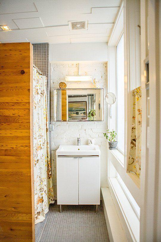 "Foto: Reprodução / <a href="" http://www.apartmenttherapy.com/jenna-amp-jeremys-handmade-row-home-house-tour-187061#"" target=""_blank""> Apartment Therapy </a>"