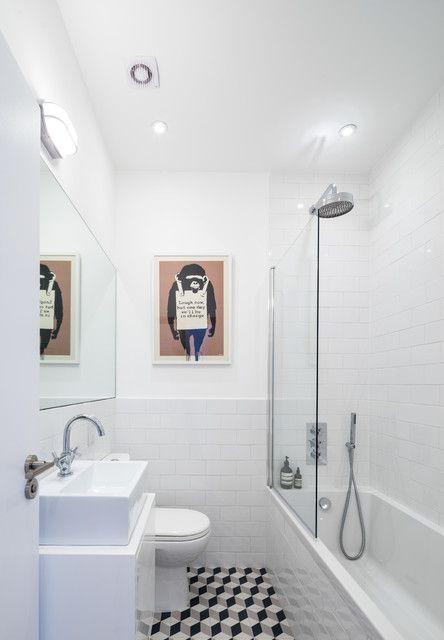 """Foto: Reprodução / <a href="""" http://www.houzz.com/au/ideabooks/48098544/list/you-decide-shower-doors-or-shower-curtains"""" target=""""_blank""""> Houzz </a>"""
