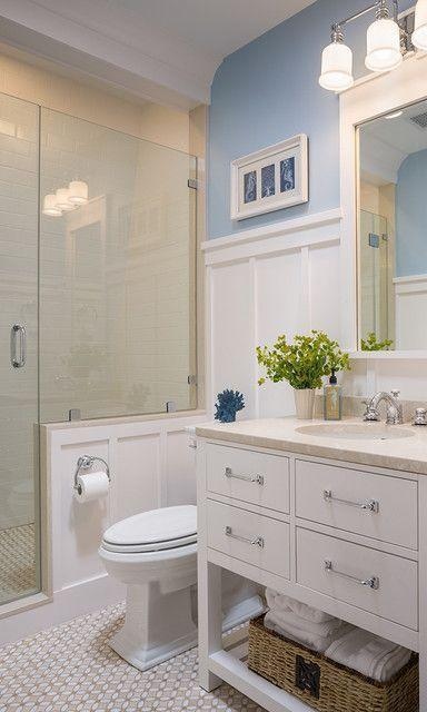 "Foto: Reprodução / <a href=""http://www.houzz.com/photos/4930438/Coastal-Victorian-Renovation-victorian-bathroom-providence"" target=""_blank""> Houzz </a>"