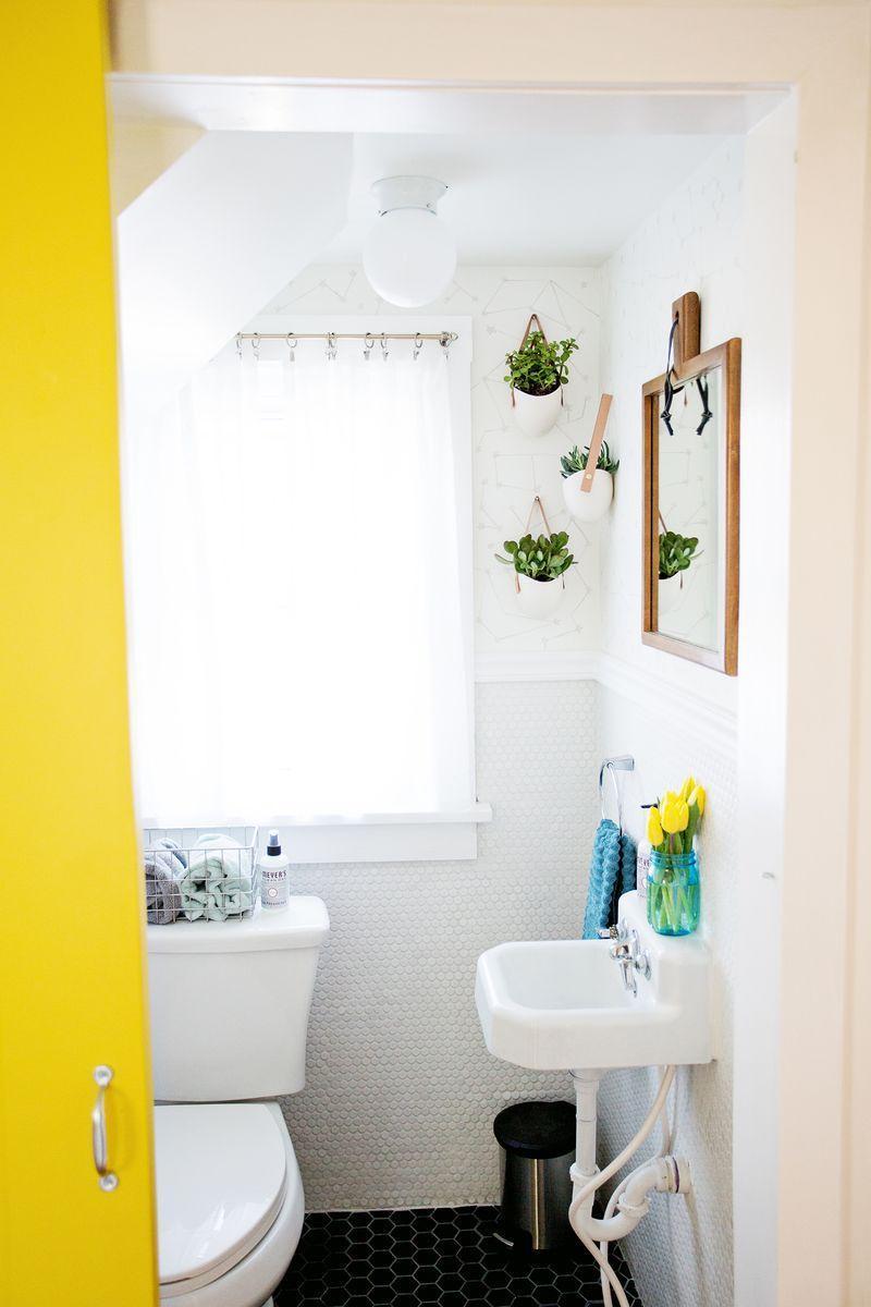 Banheiros pequenos fotos e truques para decorar com estilo - Decorar fotografias ...