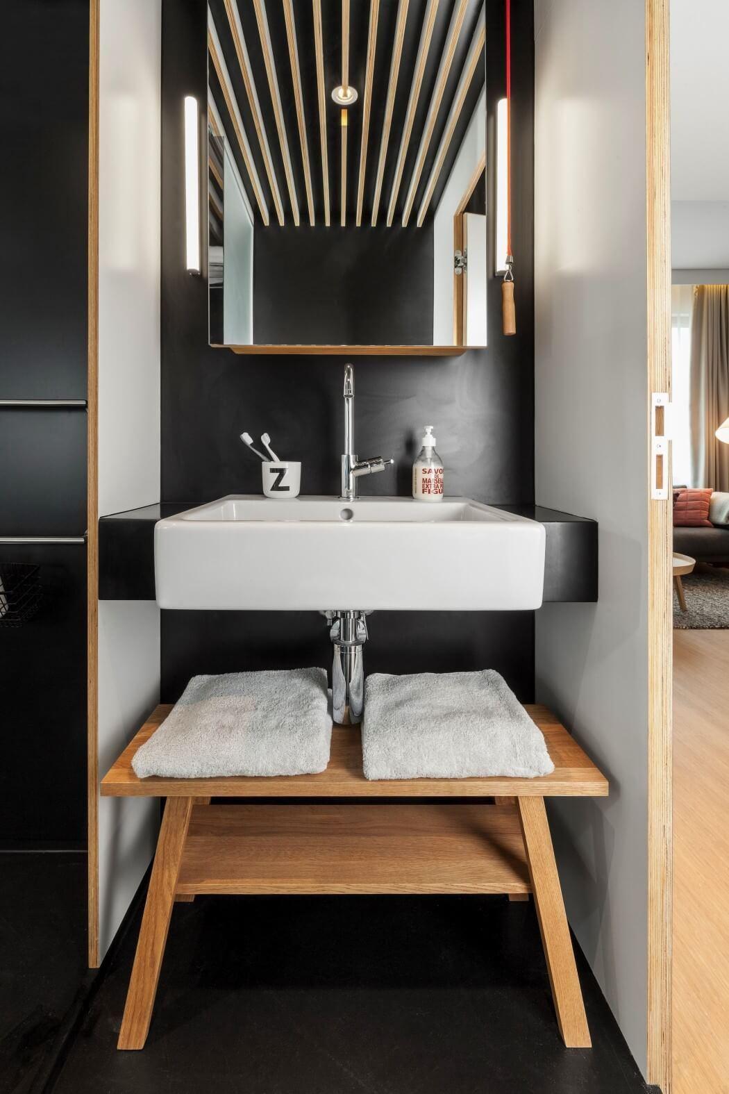 #90653B Confira 90 imagens inspiradoras de lavabos e banheiros e inspire se: 1050x1575 px Banheiros Pequenos E Lavabos 343