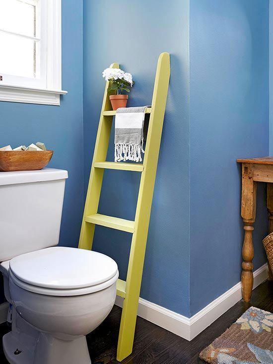 """Foto: Reprodução / <a href=""""http://www.bhg.com/bathroom/storage/storage-solutions/bathroom-storage-ideas1/#page=12"""" target=""""_blank""""> Better Homes and Gardens </a>"""
