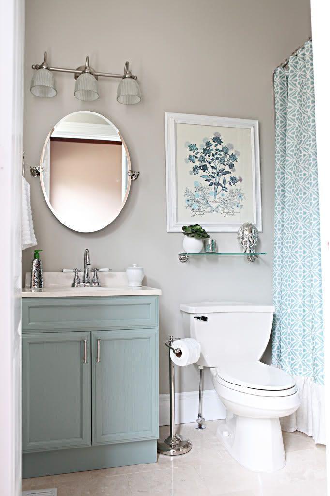 "Foto: Reprodução / <a href=""http://www.bowerpowerblog.com/2012/02/office-bathroom-reveal/"" target=""_blank"">Bower power blog </a>"