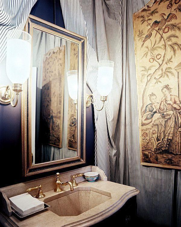 "Foto: Reprodução / <a href=""http://www.lonny.com/photos/Bathroom/WSK3tgPNQ_S"" target=""_blank"">Lonny</a>"
