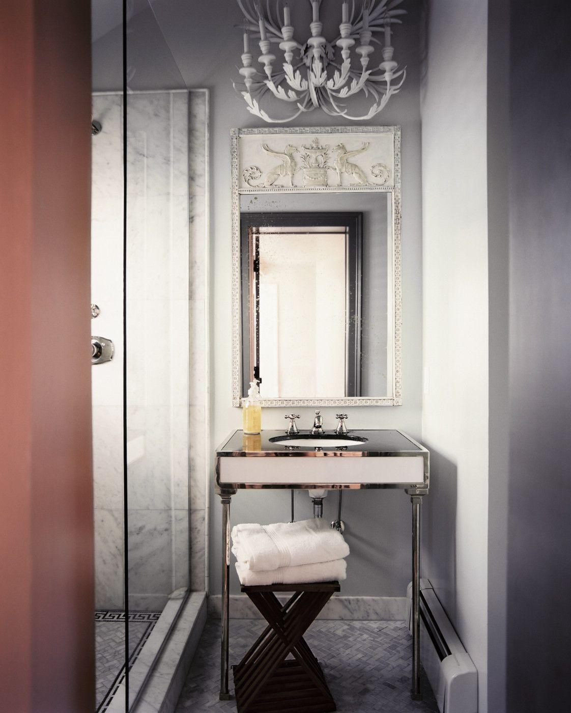"Foto: Reprodução / <a href=""http://www.lonny.com/photos/Bathroom/XYUK7AG7g2l"" target=""_blank""> Lonny </a>"
