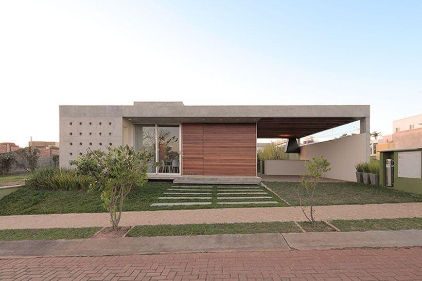 Fachadas de casas 60 fotos incr veis para te inspirar for Casa moderna 5
