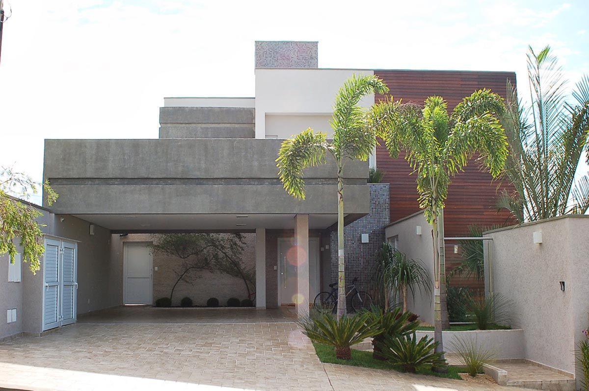 Fachadas de casas 60 fotos incr veis para te inspirar for Casa moderna 8