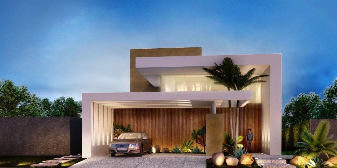 Fachadas de casas 60 fotos incr veis para te inspirar for Fachadas de casas modernas 1 pavimento