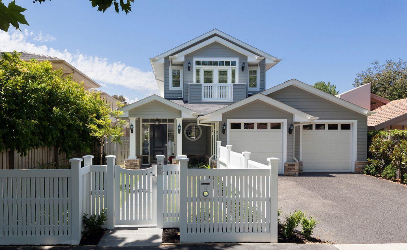 "Foto: Reprodução / <a href=""http://www.houzz.com/projects/872358/custom-design-home-hamptons-style"" target=""_blank"">Orbit Homes</a>"