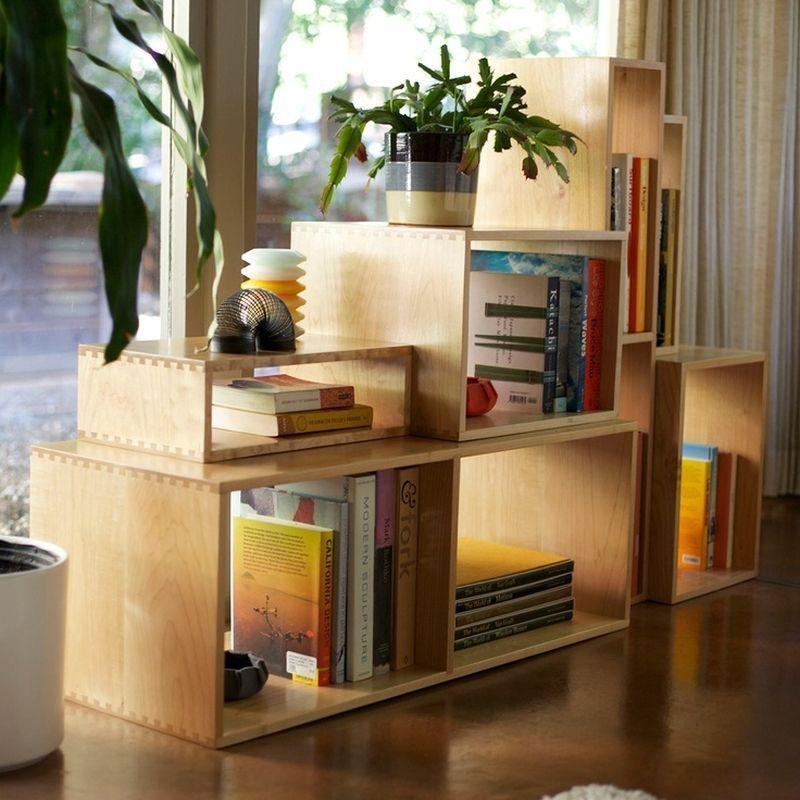 "Foto: Reprodução / <a href=""http://www.homedit.com/box-shelves/"" target=""_blank"">Homedit</a>"