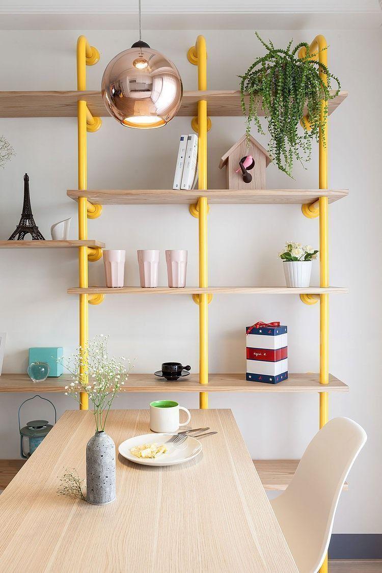 """Foto: Reprodução / <a href=""""https://homeadore.com/2014/09/04/wonderland-apartment-house-design-studio/"""" target=""""_blank"""">Home Adore</a>"""