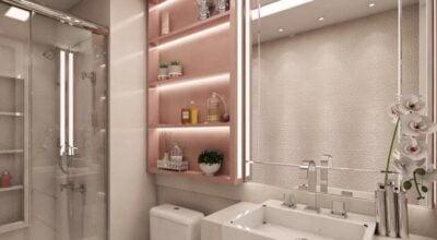 Banheiros pequenos: truques para otimizar espaços e decorar com estilo