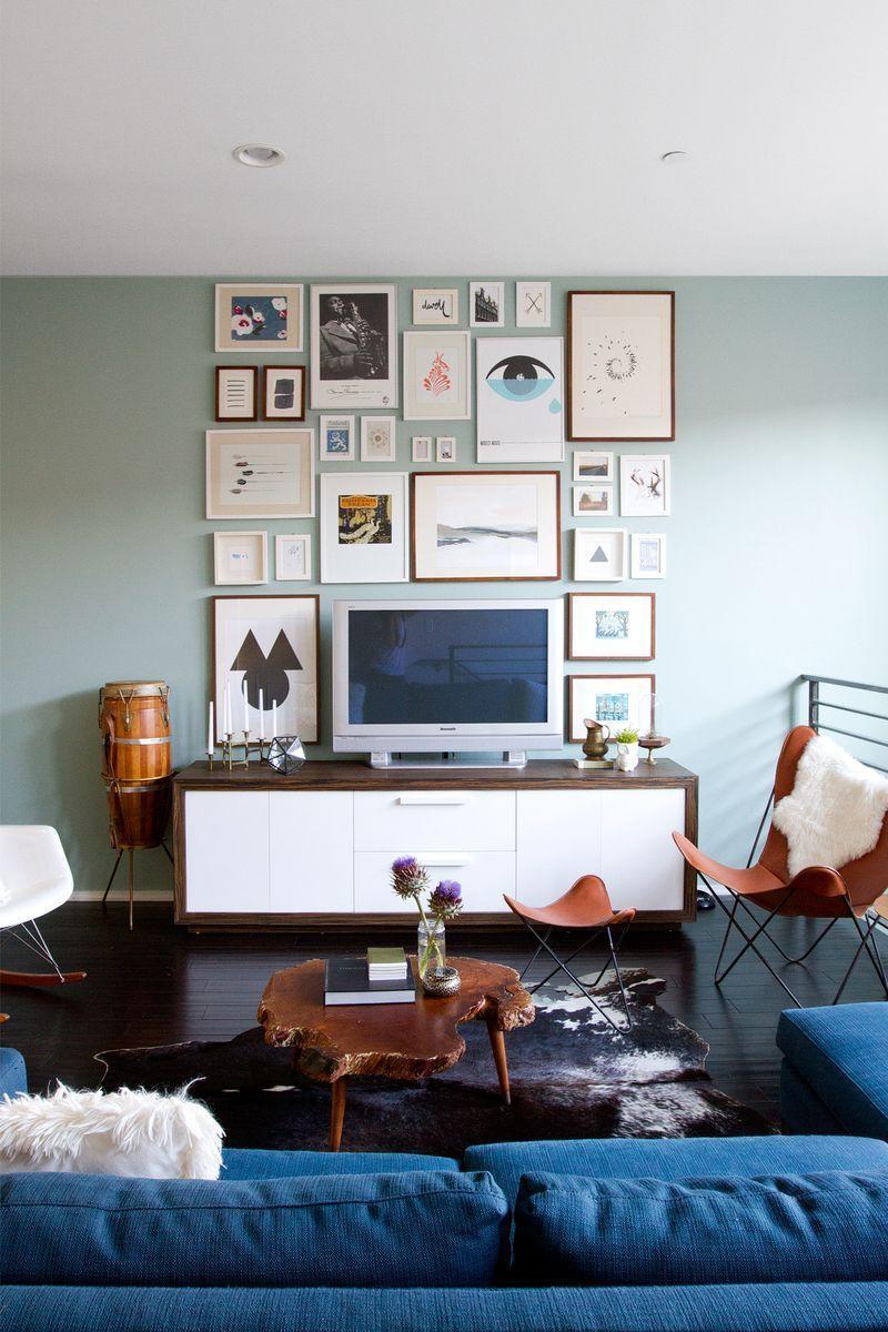 "Foto: Reprodução / <a href=""http://www.abeautifulmess.com/2013/08/at-home-with-sarah-sherman-samuel.html"" target=""_blank"">A beautiful mess </a>"