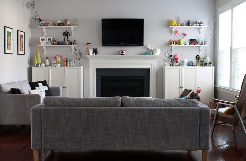 "Foto: Reprodução / <a href=""http://www.abeautifulmess.com/2013/11/at-home-with-jessee-maloney-1.html"" target=""_blank"">A beautiful mess</a>"