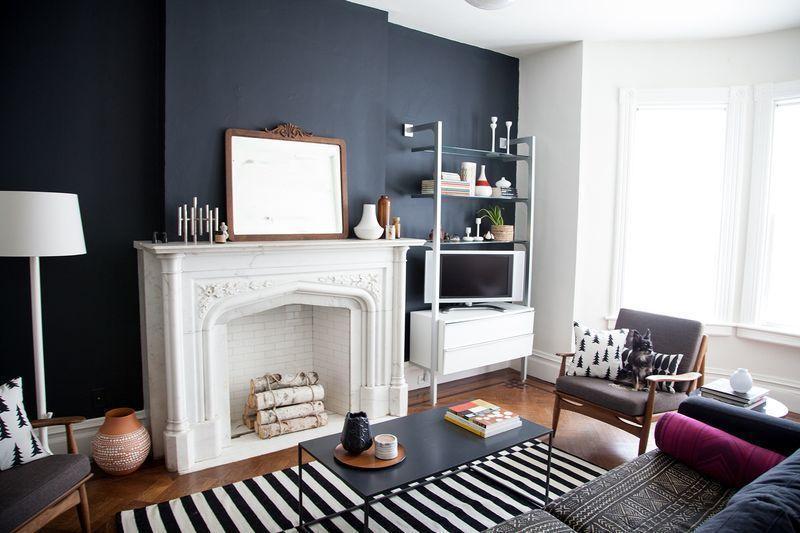 "Foto: Reprodução / <a href=""http://www.abeautifulmess.com/2013/08/at-home-with-anna-dorfman.html "" target=""_blank"">A beautiful mess</a>"