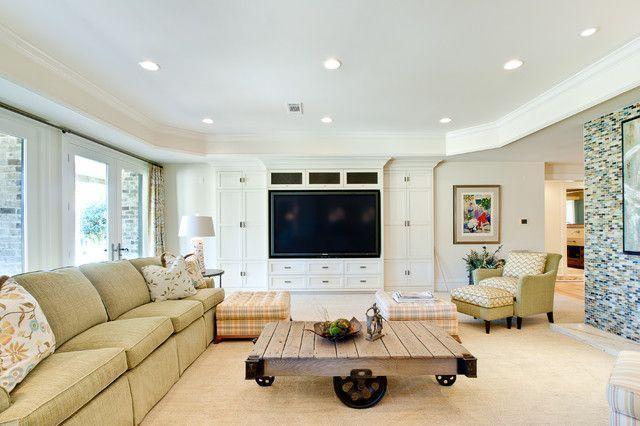 """Foto: Reprodução / <a href=""""http://www.houzz.com/photos/1633248/Insidesign-Remodel-Project-eclectic-family-room-atlanta"""" target=""""_blank"""">Houzz</a>"""