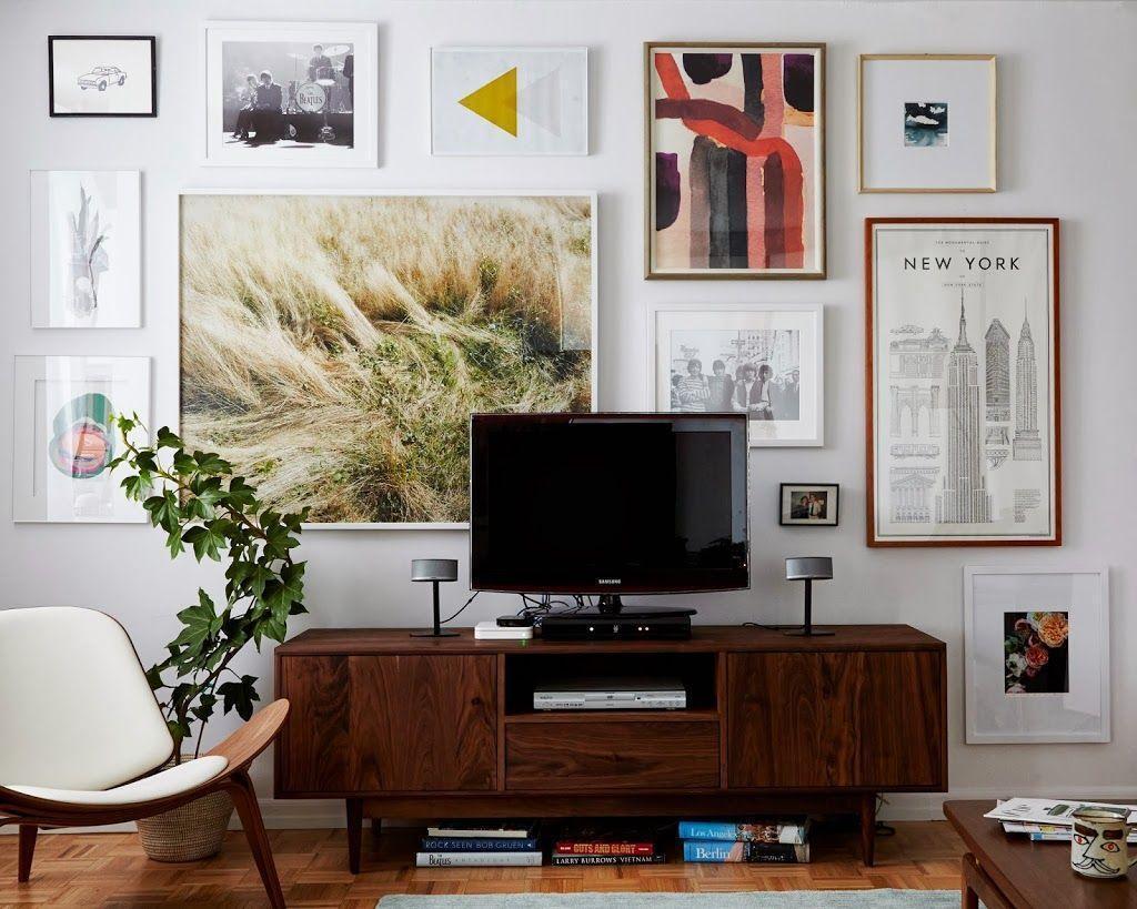 Sala De Tv Guia Absolutamente Completo De Decora O -> Sala De Tv Com Duas Janelas