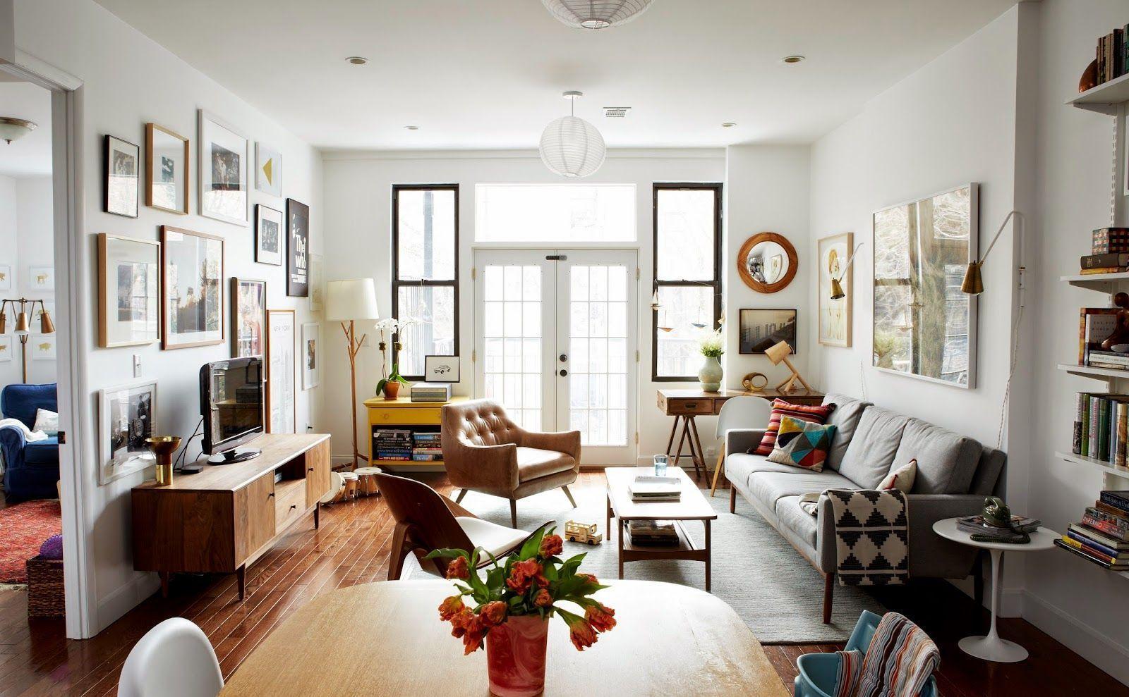 "Foto: Reprodução / <a href=""http://cupofjo.com/2015/03/our-brooklyn-apartment/"" target=""_blank"">Cup of Jo</a>"