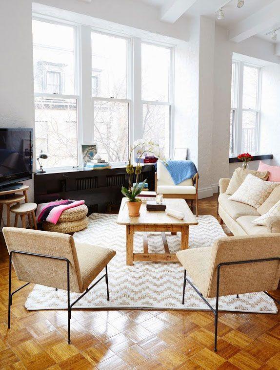 """Foto: Reprodução / <a href=""""http://cupofjo.com/2015/05/new-york-city-apartment-tour-2/"""" target=""""_blank"""">Cup of Jo</a>"""