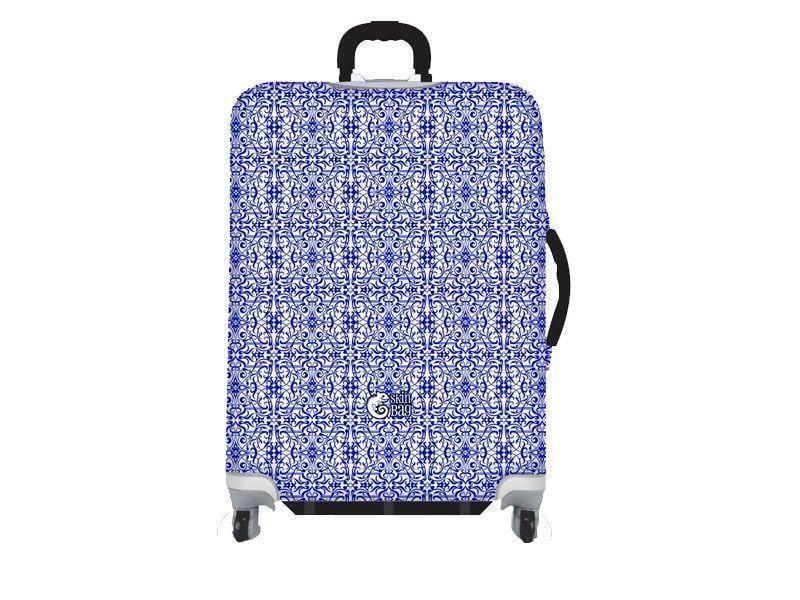 """Capa de Mala Azulejo Português por R$89,90 na <a href=""""http://www.skinbag.com.br/Protetor-Malas/Tematicas/Azulejo-portugues/Tamanho-P/Bagagem-protegida-com-Skin-Bag-Tematicas-Azulejo-portugues-Tamanho-P.aspx"""" target=""""blank_"""">Skinbag</a>"""