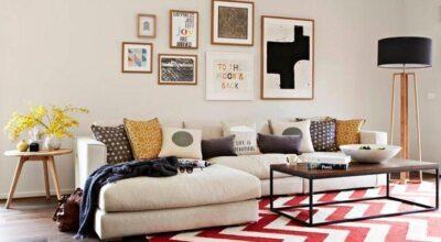 Quadros na decoração: ideias para valorizar sua sala de estar