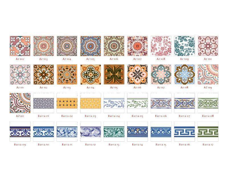 """Foto: Reprodução / <a href=""""http://www.azulejosantigos.com.br/produtos/azulejos-coloniais-e-coloridos"""" target=""""_blank"""">Azulejos Antigos</a>"""