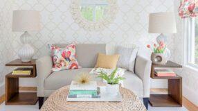 50+ inspirações para decorar salas pequenas