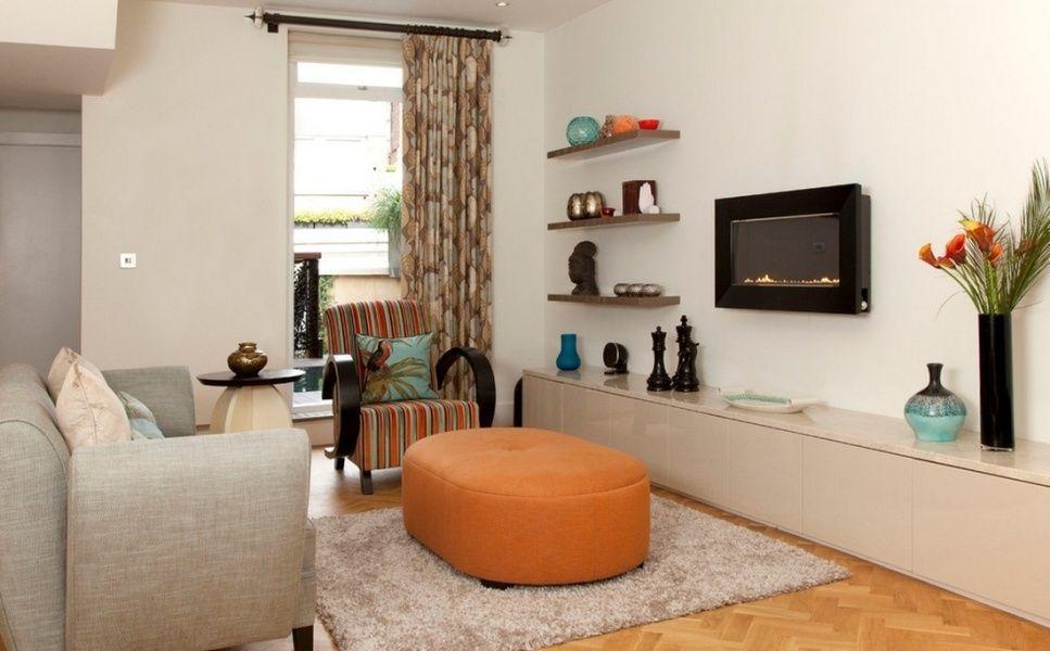 Decoraç u00e3o de sala pequena 40+ fotos e truques profissionais -> Decoração De Interiores Salas Simples
