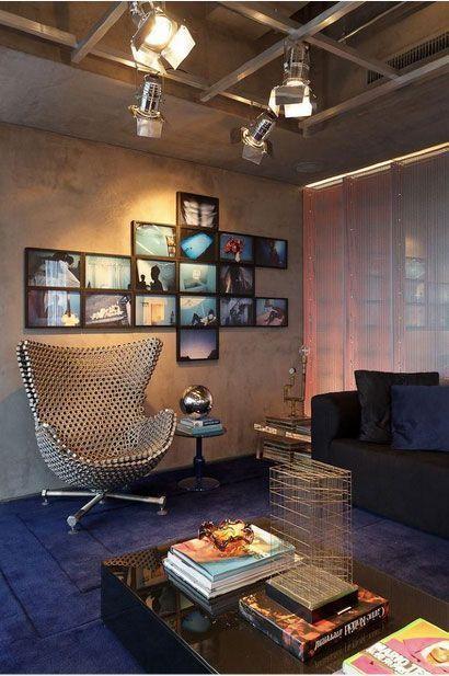 """Foto: Reprodução / <a href=""""https://www.vivadecora.com.br/foto/23956/cimento-queimado""""target=""""_blank"""">Amanda Forte</a>"""