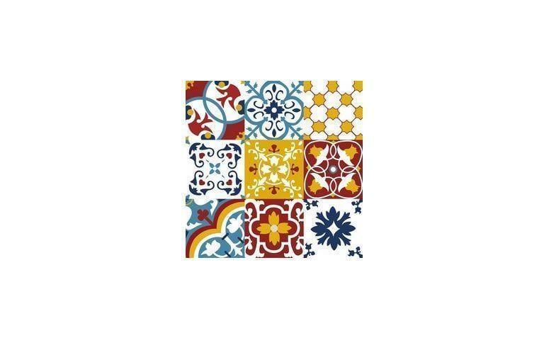 """Adesivo Aurora 043 (em rolo) por R$ 49,90 na <a href=""""https://www.papeldecor.com.br/azulejo/Papel-de-parede-azulejo-aurora-043 """" target=""""_blank"""">Papel Decor</a>"""