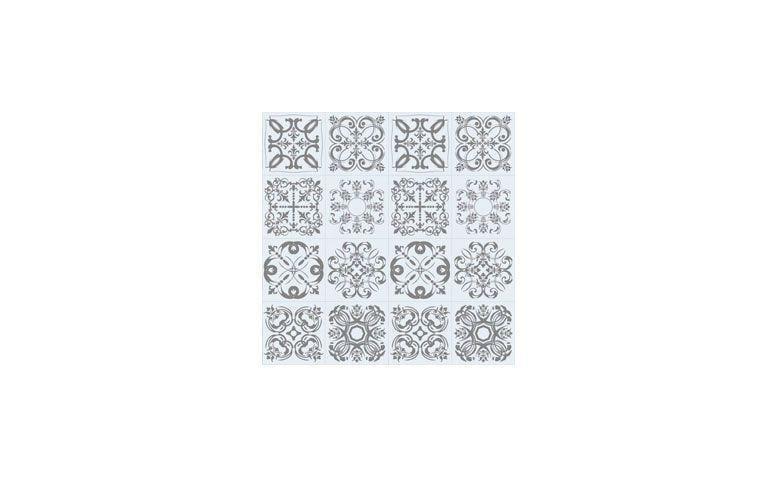 "Adesivo Elegance 012 por R$ 49,90 na <a href=""https://www.papeldecor.com.br/azulejo/Papel-de-parede-azulejo-elegance-012  "" target=""_blank"">Papel Decor</a>"