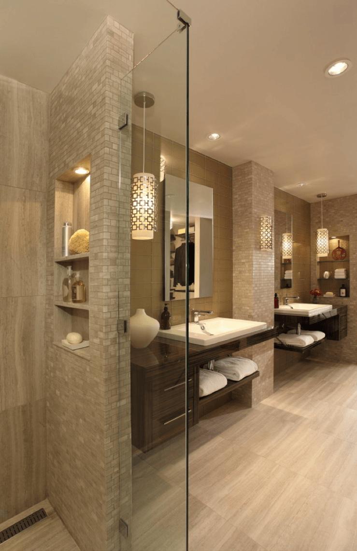 """Foto: Reprodução / <a href=""""http://www.houzz.com/photos/8384494/Master-Bathroom-Renovation-contemporary-bathroom-atlanta"""" target=""""_blank"""">Rabaut Design Associates</a>"""