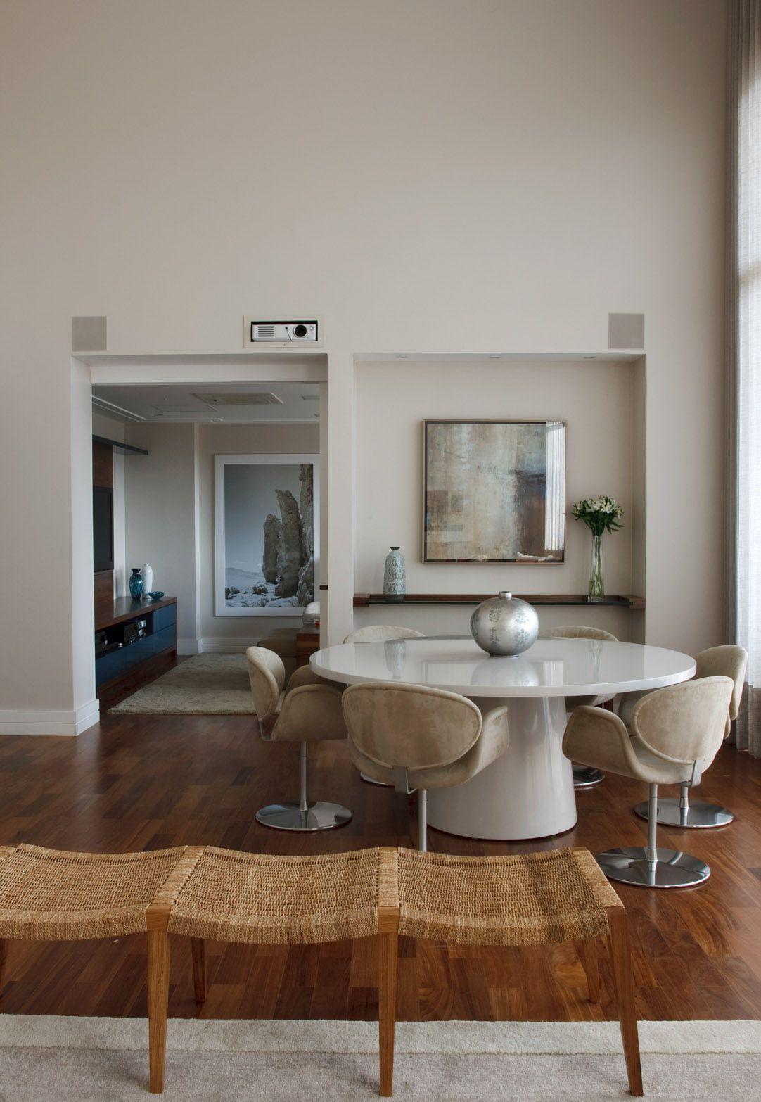 """Foto: Reprodução / <a href=""""http://mariliaveiga.com.br/decoracao-de-interiores-em-apartamento-alto-de-pinheiros"""" target=""""_blank"""">Marília Veiga Interiores</a>"""
