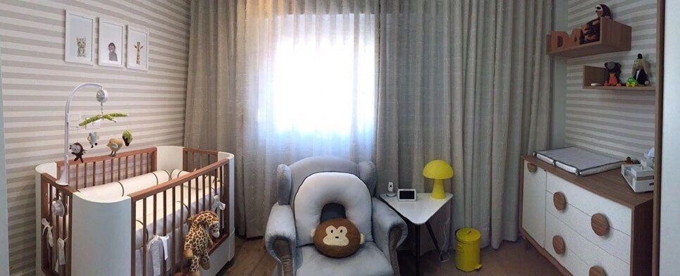 """Foto: Reprodução / <a href=""""http://interiores3d.com.br/quarto-do-baby-davi-%E2%9D%A4/"""" target=""""_blank"""">Malu Goraieb</a>"""