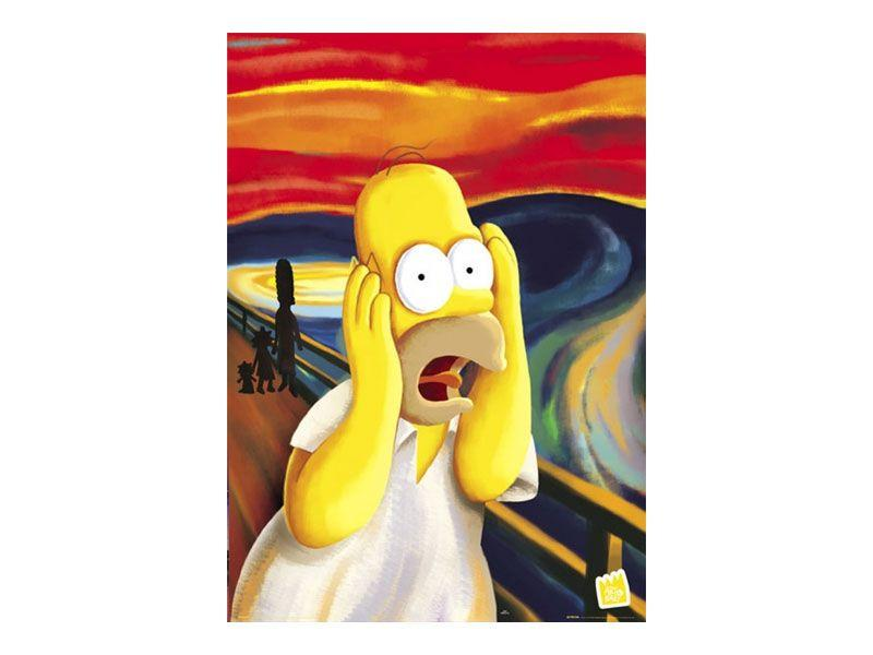 "Pôster Simpsons por R$27,90 na <a href=""https://wallstreetposters.com.br/index.php?PAG=1&idc=4&tag=Filmes-e-Seriados"" target=""_blank"">Wall Street Posters</a>"