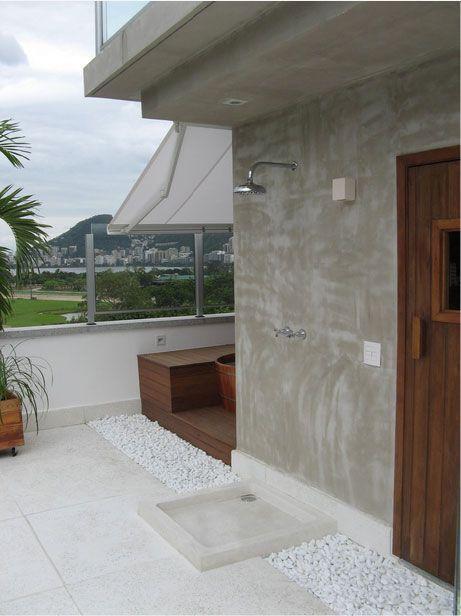 """Foto: Reprodução / <a href=""""https://www.vivadecora.com.br/foto/18037/parede-de-cimento-queimado """"target=""""_blank"""">André Martins</a>"""