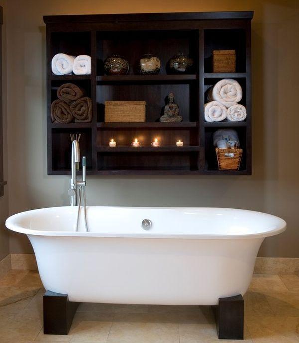 "Foto: Reprodução / <a href="" http://www.homedit.com/how-to-give-your-bathroom-a-spa-like-feel/asian-bathroom-accessories/ "" target=""_blank"">Homedit</a>"