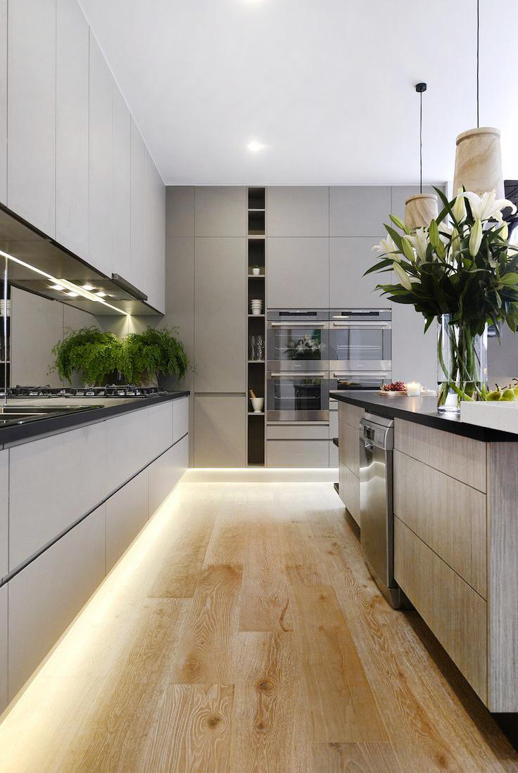 "Foto: Reprodução / <a href=""http://www.chic-deco.com/lighting-kitchen-tips/  "" target=""_blank"">Chic deco</a>"