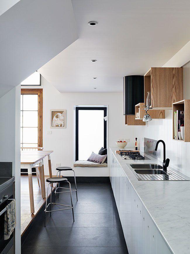 """Foto: Reprodução / <a href="""" http://www.decouvrirdesign.com/home-tours/visite-dune-maison-edwardienne-entierement-renove-a-melbourne-modernite-elegance-et-bonnes-idees-deco/"""" target=""""_blank"""">Decouvrir design</a>"""