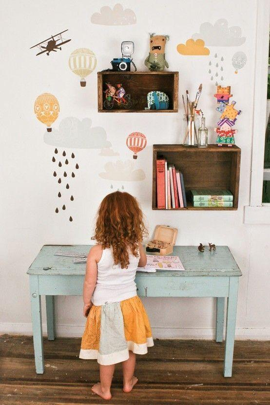 """Foto: Reprodução / <a href=""""http://frenchbydesignblog.com/2012/05/tuesday-mix-awesome-kids-spaces.html """" target=""""_blank"""">French by design</a>"""