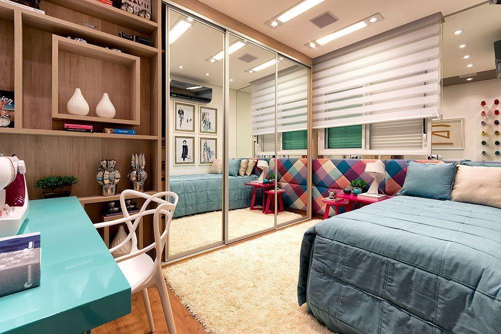 """Foto: Reprodução / <a href=""""http://itdecor.com.br/tags/apartamentos-decorados-plaengecomo-decorar-apartamentosprateleiras-na-decoracaocomo-decorararquiteturainteriordecordesigner-de-interiores/  """" target=""""_blank"""">Studio It decor</a>"""