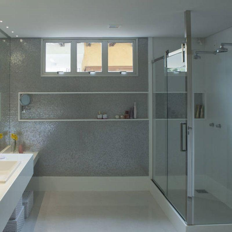 83 banheiros com pastilhas fotos e como aplicar -> Banheiros Com Pastilhas Porto Design