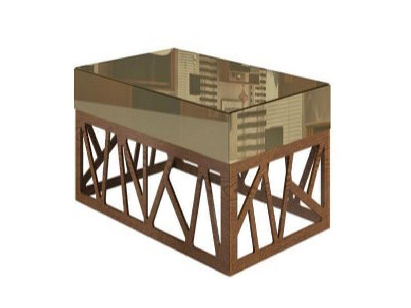 """Mesa de Centro Retangular por R$2.128,63 na <a href=""""http://www.sunhouse.com.br/mesa-centro-retangular-vies-esp--bronze-carvalho-claro24617/p"""" target=""""blank_"""">Sun House</a>"""