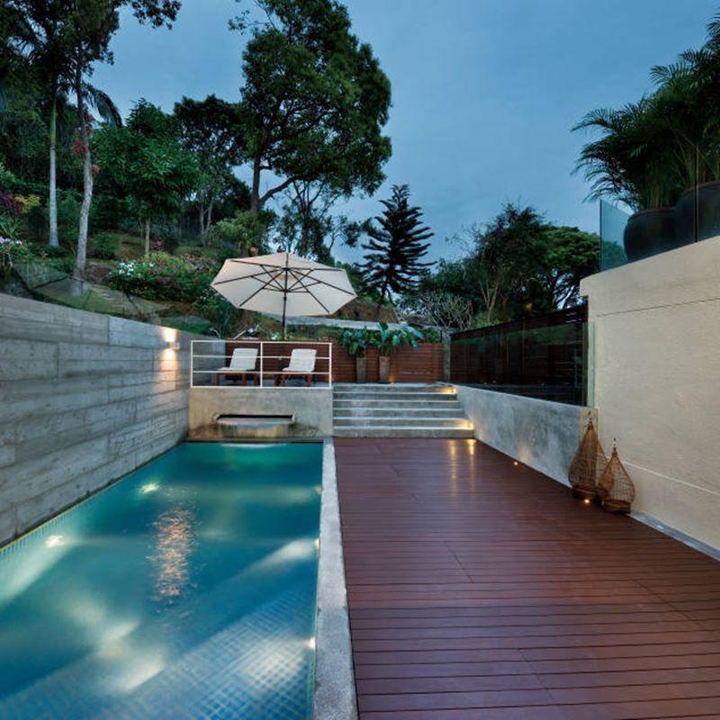 Piscina de vinil vantagens custos cuidados e fotos for Fotos de piscinas