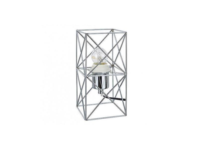 """Abajur de Metal Cromado por R$170,00 cada na <a href=""""https://www.boutiquedoslustres.com.br/abajur-de-metal-cromado2"""" target=""""blank_"""">Imaginarium</a>"""