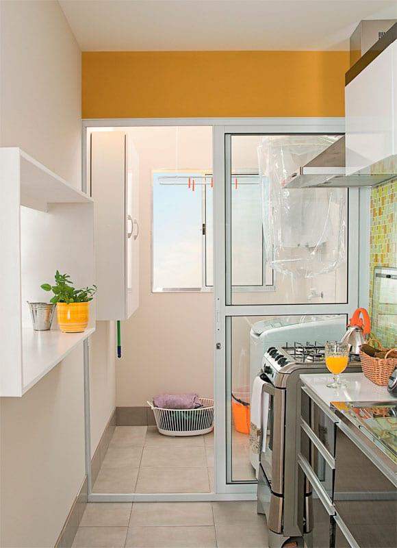 Espa o gourmet 90 fotos e dicas para montar o ambiente - Reformas casas pequenas ...