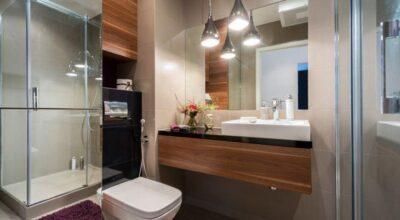 80 banheiros modernos e contemporâneos para inspirar