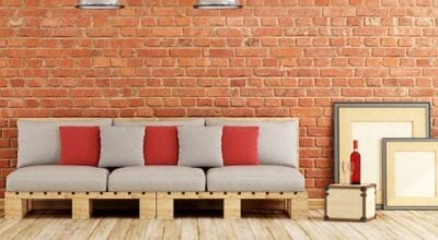 100+ inspirações para decorar com móveis de palete