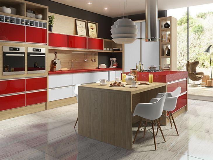 """Foto: Reprodução / <a href=""""http://www.dalmobile.com.br/categoria/cozinhas-planejadas/14"""" target=""""_blank"""">Dalmóbile</a>"""